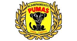 acampamento dos pumas logo m